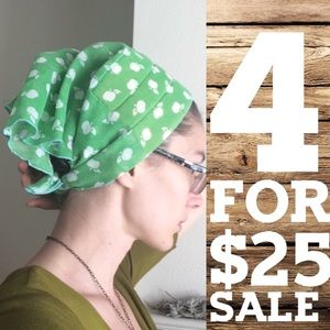 Green Apple Headscarf 🍏